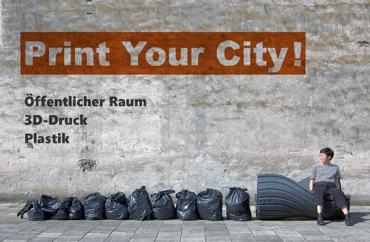 3d Druck Möbel Für Den öffentlichen Raum Urban Digitalde