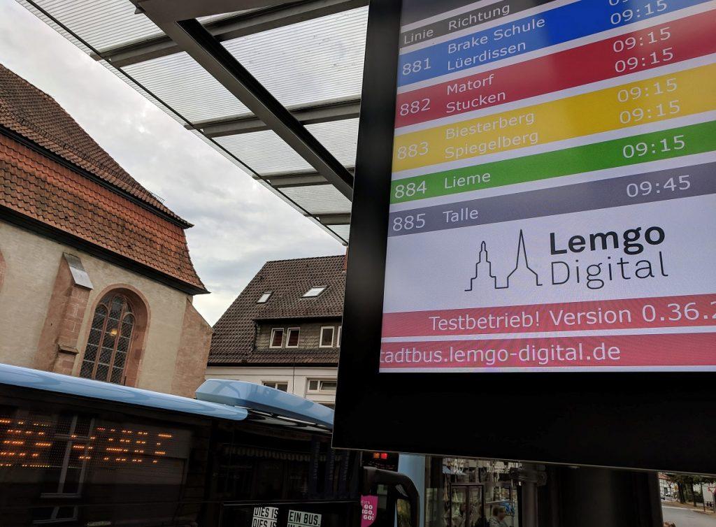 stadtbus lemgo digital